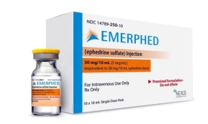 Emerphed (ephedrine sulfate) RTU injection