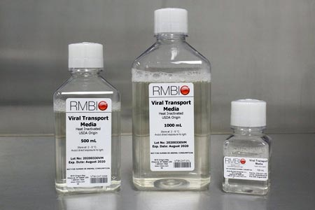 Rocky Mountain Biologicals, LLC Providing Viral Transport Medium for COVID-19 Testing