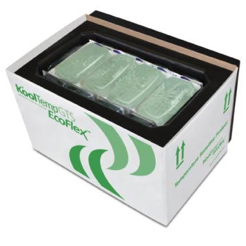 KoolTemp® GTS EcoFlex  Employing the industry's first shape staple PCM, KoolTemp® GTS EcoFlex vacuum insulated panel (VIP) shipping systems offer compliant refurbishment in return and re-use environments.