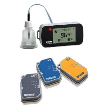 InTemp® Data Loggers  End-to-end temperature data logger solutions for temperature-sensitive storage monitoring, logistics and distribution, and VFC program compliance.