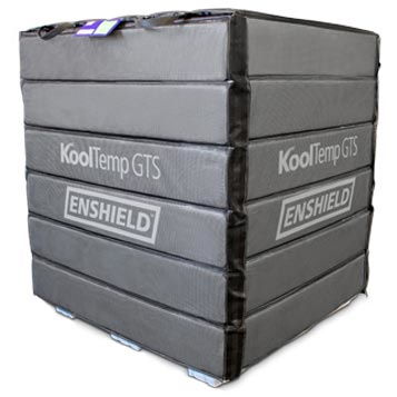 KoolTemp® GTS Enshield  Meet the latest innovation in biopharmaceutical payload protection – KoolTemp GTS Enshield®, the first PCM Pallet Cover System.